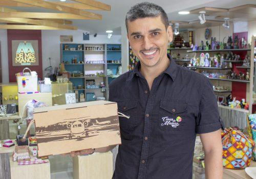 empresario cosas de madera